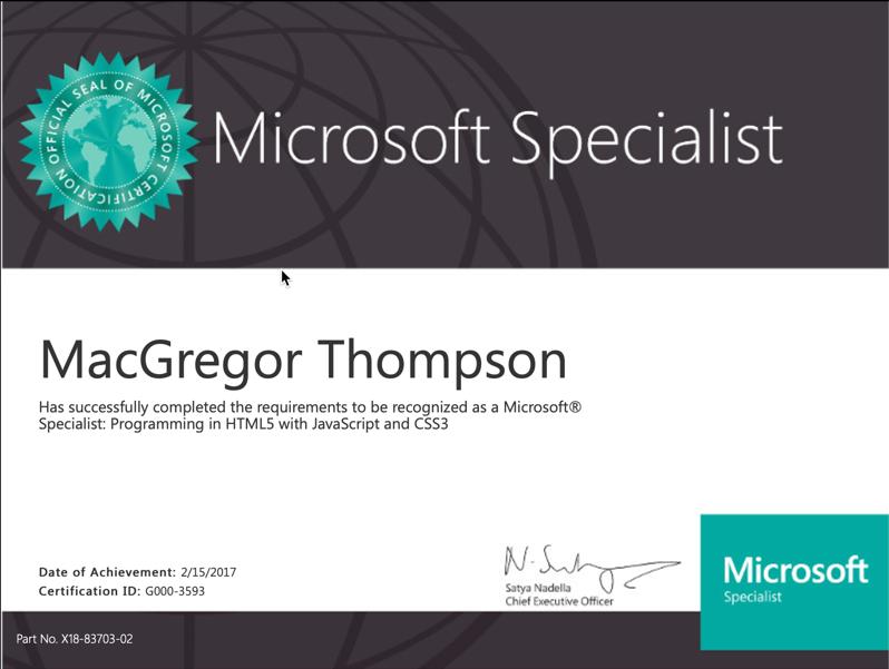 MacGregor Thompson